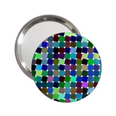 Geometric Background Colorful 2 25  Handbag Mirrors