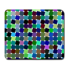 Geometric Background Colorful Large Mousepads