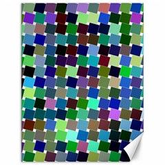 Geometric Background Colorful Canvas 12  X 16