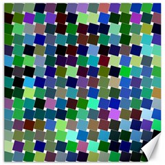 Geometric Background Colorful Canvas 16  X 16