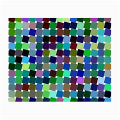 Geometric Background Colorful Small Glasses Cloth (2 Sides)