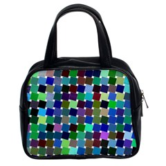 Geometric Background Colorful Classic Handbag (two Sides)
