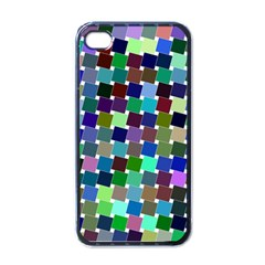 Geometric Background Colorful Iphone 4 Case (black)