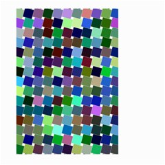 Geometric Background Colorful Large Garden Flag (two Sides)