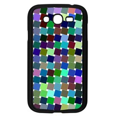Geometric Background Colorful Samsung Galaxy Grand Duos I9082 Case (black) by HermanTelo