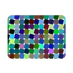 Geometric Background Colorful Double Sided Flano Blanket (mini)