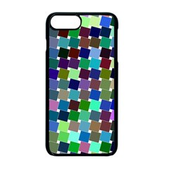 Geometric Background Colorful Iphone 7 Plus Seamless Case (black)