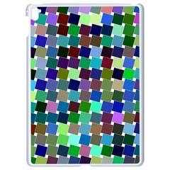 Geometric Background Colorful Apple Ipad Pro 9 7   White Seamless Case
