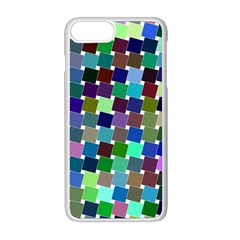 Geometric Background Colorful Iphone 8 Plus Seamless Case (white)