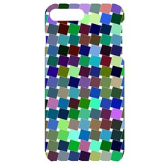 Geometric Background Colorful Iphone 7/8 Plus Black Uv Print Case