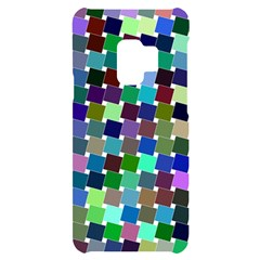 Geometric Background Colorful Samsung S9 Black Uv Print Case