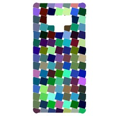 Geometric Background Colorful Samsung Note 9 Black Uv Print Case