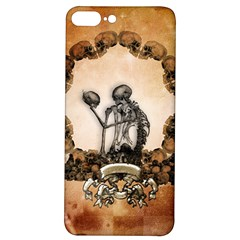 Awesome Skeleton With Skulls Iphone 7/8 Plus Soft Bumper Uv Case