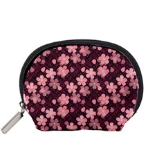 Cherry Blossoms Japanese Accessory Pouch (small)
