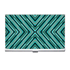 Fabric Sage Grey Business Card Holder