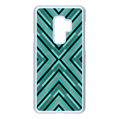 Fabric Sage Grey Samsung Galaxy S9 Plus Seamless Case(white) by HermanTelo