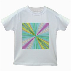 Background Burst Abstract Color Kids White T Shirts by HermanTelo