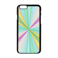 Background Burst Abstract Color Iphone 6/6s Black Enamel Case