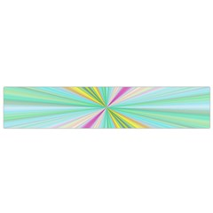 Background Burst Abstract Color Small Flano Scarf