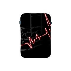 Music Wallpaper Heartbeat Melody Apple Ipad Mini Protective Soft Cases by HermanTelo