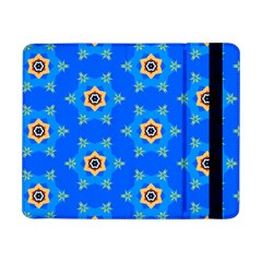 Pattern Backgrounds Blue Star Samsung Galaxy Tab Pro 8 4  Flip Case by HermanTelo