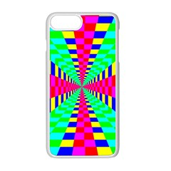 Maze Rainbow Vortex Iphone 8 Plus Seamless Case (white)