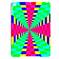 Maze Rainbow Vortex Apple Ipad Pro 9 7   Black Uv Print Case
