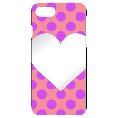 Love Heart Valentine Iphone 7/8 Black Uv Print Case