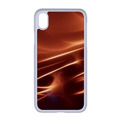Light Rays Aurora Iphone Xr Seamless Case (white)