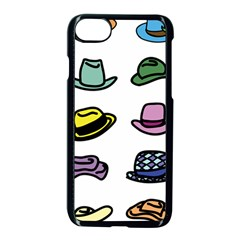 Hat Dress Elegance Iphone 7 Seamless Case (black) by HermanTelo