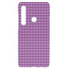 Gingham Plaid Fabric Pattern Purple Samsung Case Others by HermanTelo
