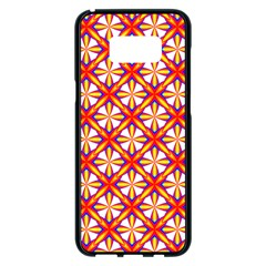Hexagon Polygon Colorful Prismatic Samsung Galaxy S8 Plus Black Seamless Case