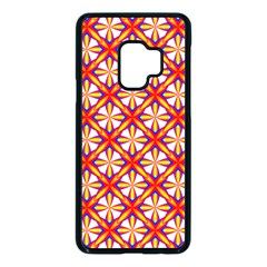 Hexagon Polygon Colorful Prismatic Samsung Galaxy S9 Seamless Case(black) by HermanTelo