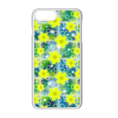Narcissus Yellow Flowers Winter Iphone 8 Plus Seamless Case (white)