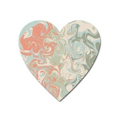 Crazy Swirls Heart Magnet by tarastyle
