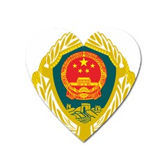 Badge Of Chinese People s Armed Police Force Heart Magnet by abbeyz71