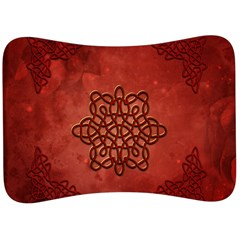 Elegant Decorative Celtic Knot Velour Seat Head Rest Cushion by FantasyWorld7