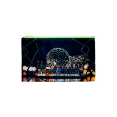 Silver Dome Cosmetic Bag (xs)