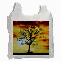 Branches Dawn Dusk Fall Recycle Bag (two Side)