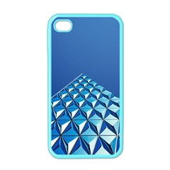 Art Building Pattern Abstract Iphone 4 Case (color)