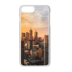 View Of High Rise Buildings During Day Time Iphone 8 Plus Seamless Case (white)