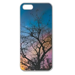 Low Angle Photography Of Bare Tree Apple Seamless Iphone 5 Case (clear)