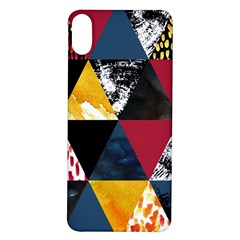 Triangles Iphone X/xs Soft Bumper Uv Case by Sobalvarro