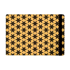 Gold Black Star Apple Ipad Mini Flip Case