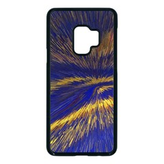 Bomb Background Pattern Explode Samsung Galaxy S9 Seamless Case(black)