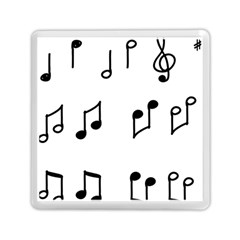 Piano Notes Music Memory Card Reader (square)
