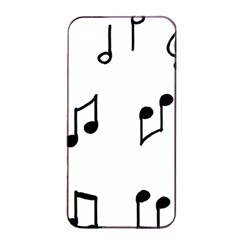 Piano Notes Music Iphone 4/4s Seamless Case (black)