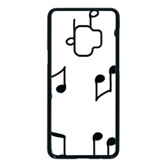Piano Notes Music Samsung Galaxy S9 Seamless Case(black) by HermanTelo