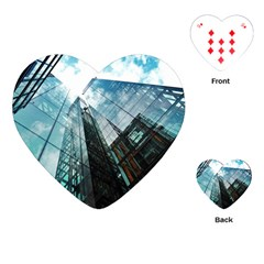 Architectural Design Architecture Building Business Playing Cards Single Design (heart)