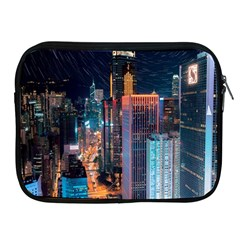 High Rise Buildings With Lights Apple Ipad 2/3/4 Zipper Cases